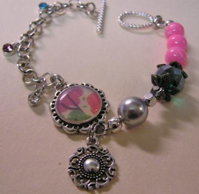 Mixed Media Charm Bracelet Too!