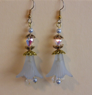 Flower Time Petal Earrings 2