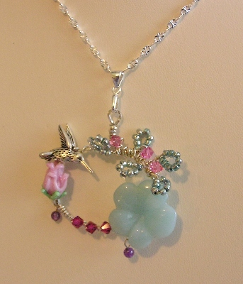 Hummingbird Song Necklace