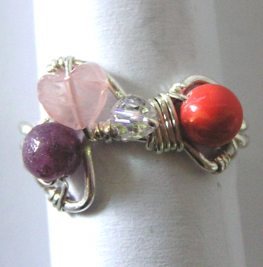 Free-Form Gemstone Ring