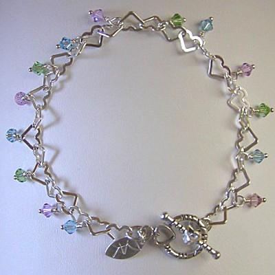 Sterling Silver Swarovski Bracelet