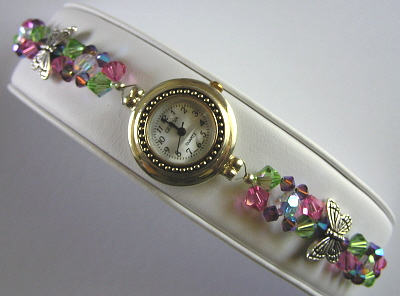 Swarovski Crystal Bracelet Watch