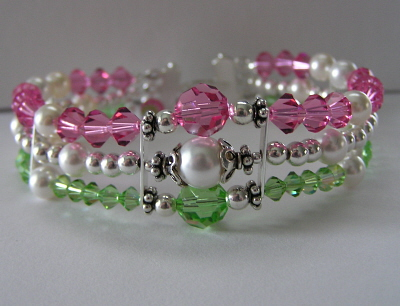 Sterling Silver and Swarovski Crystal Bracelet