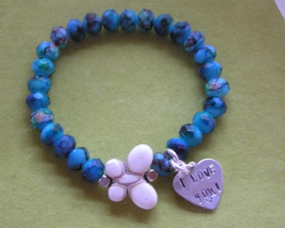 Elastic Butterfly Bracelet
