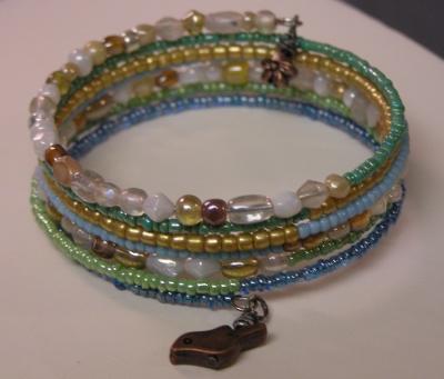 Multi-strand Memory Wire Bracelet