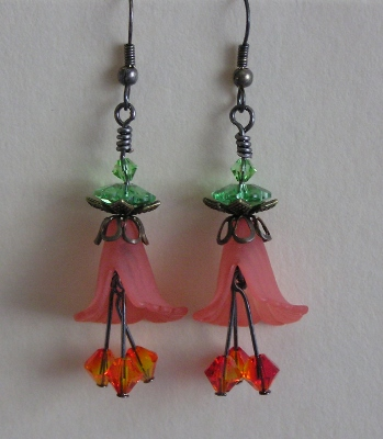 Flower-Time Petals Earrings