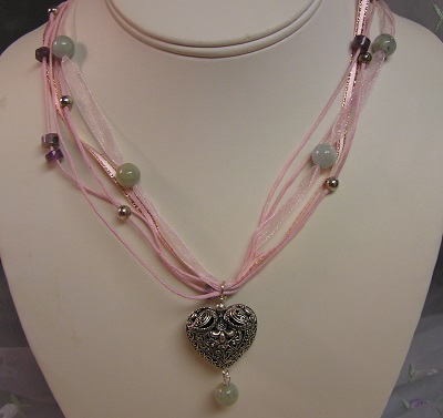 A Heart for your Thoughts Necklace