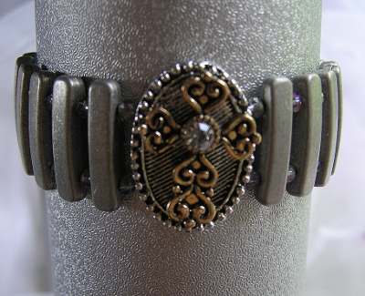 Metal Cross Bracelet